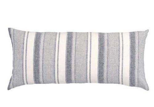 Hampton Ticking Linen Indigo Duvet Cover