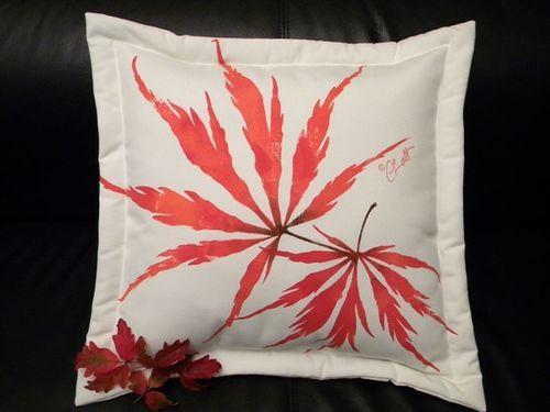 Japanese Maple Pillow