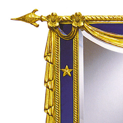 Nautical Regalia Mirror