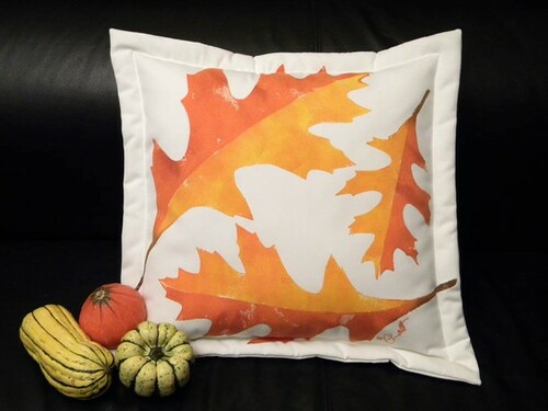 Oak Leaf Outdoor Pillow