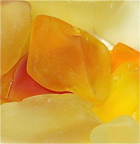 Sea Glass Yellow Giclee