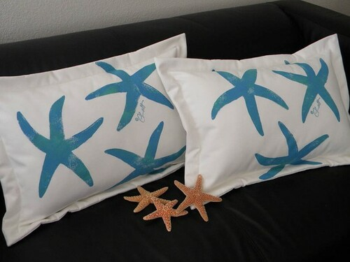 Sea Star Lumbar Pillow