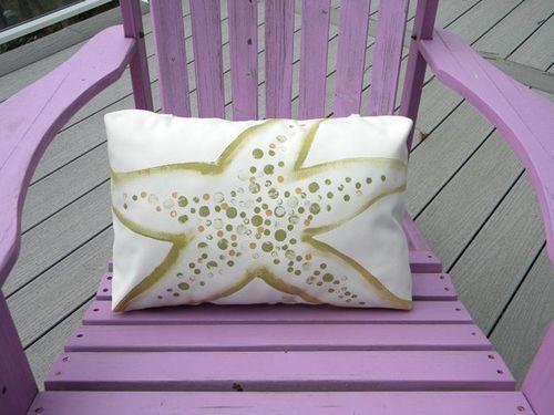 Sea Star Poolside Pillow
