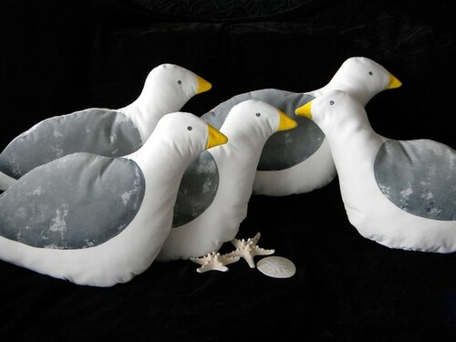 Seagull Pillow