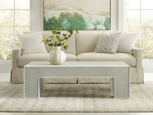 Shagreen Cocktail Table - Grey