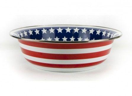 Stars & Stripes Serving Bowl
