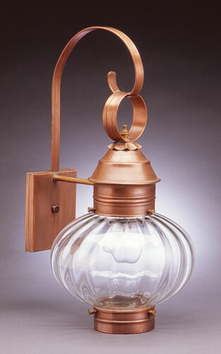 10 Onion Wall Light Fixture Without Cage