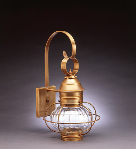 11 Onion Wall Light Fixture With Cage
