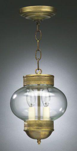 8 Onion Hanging Light Fixture