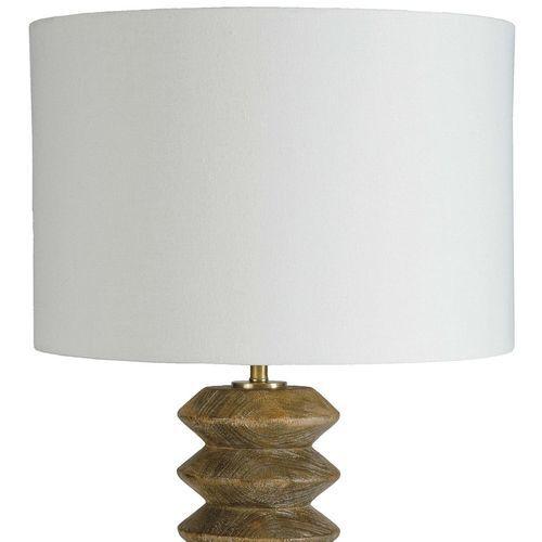 Accordion Natural Table Lamp