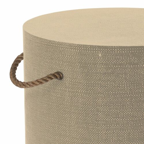 Aegean Round Side Table - Natural