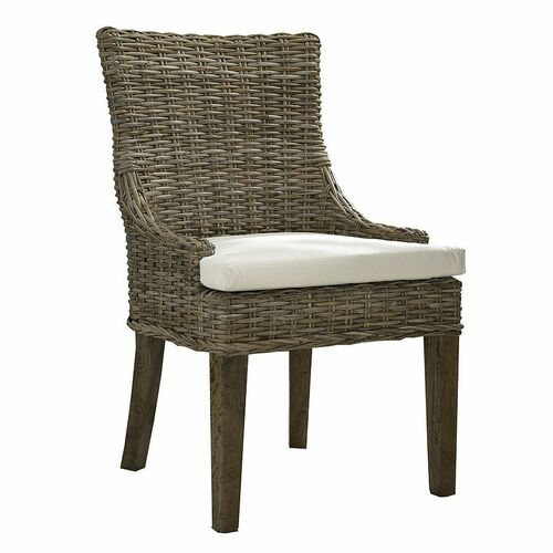 Alfresco Dining Chair - Kubu Set of 2 <font color=cf2317>NEW</font>