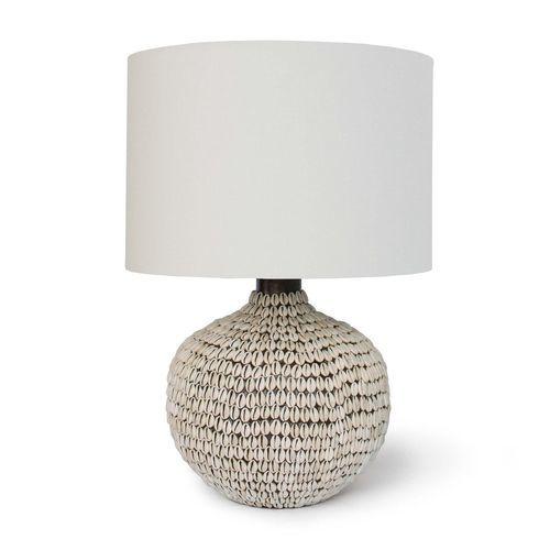 Amelia White Coastal Table Lamp