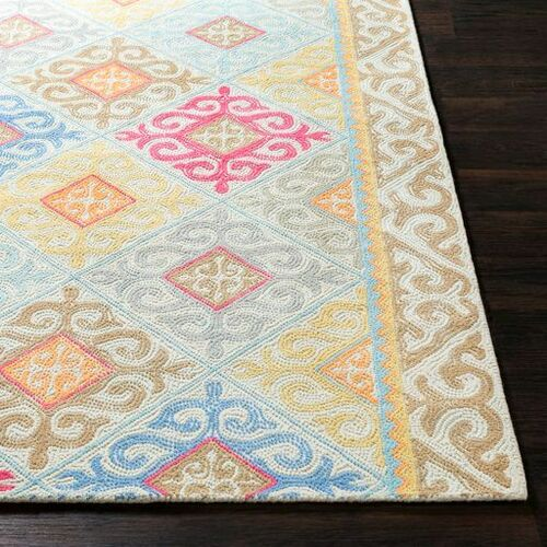 Antigua Mint Hand Tufted Rug