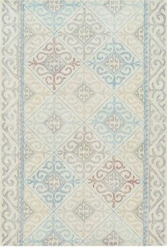 Antigua Pale Blue Hand Tufted Rug