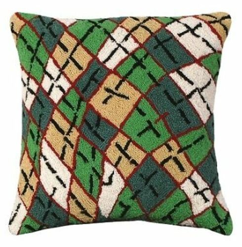 Argyle Christmas Pillow