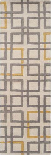 Artist Studio Grey/Khaki Plush Pile Rug
