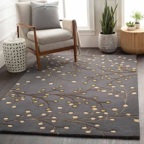 Athena Grass Green Hand Tufted Rug