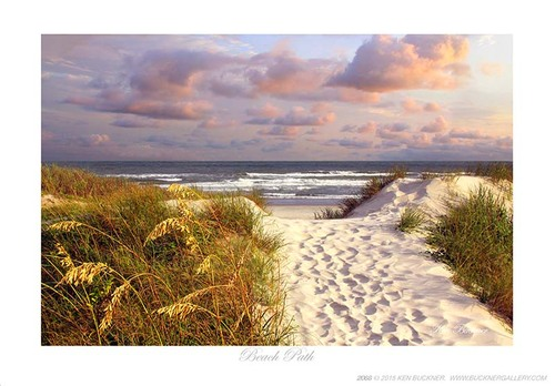Beach Path Giclee