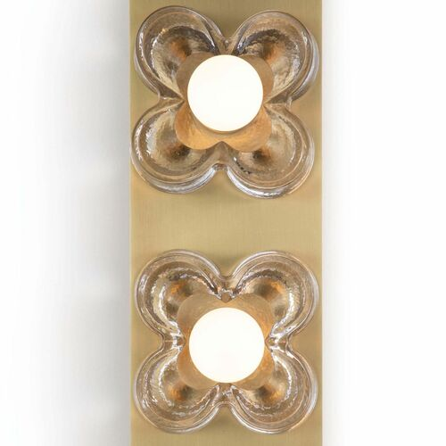 Bella Triple Flower Sconce