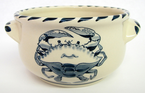 Blue Crab Soup/Chowder Bowl - Set of 4