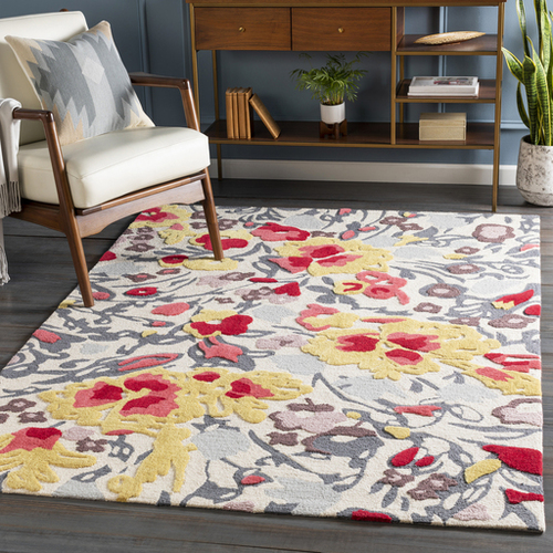 Botanical Hand Tufted Rug *Low Stock