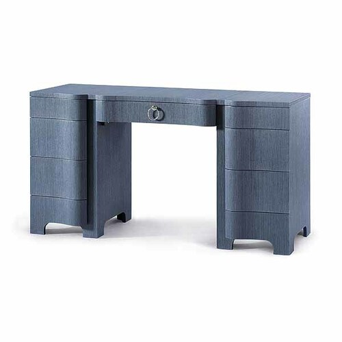 Bouquet Desk - Navy Blue