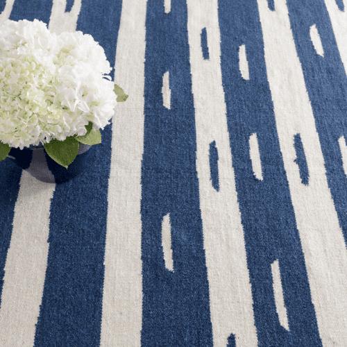 Briar Blue Woven Wool Rug