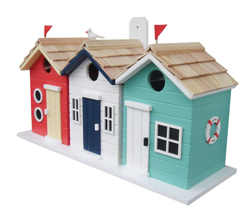 Brighton Beach Huts Birdhouse * backorder December