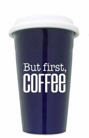 But Coffee First Cobalt Ceramic Tumbler - Set 2