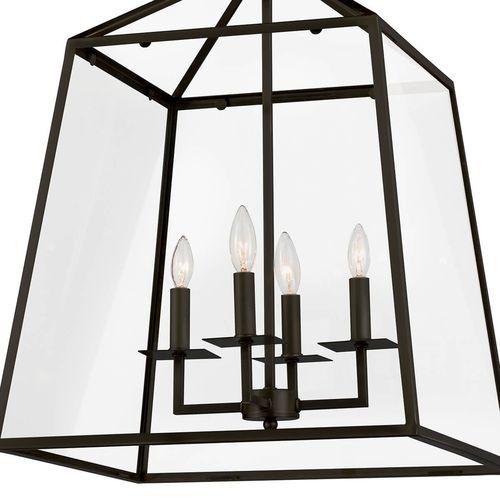 Cachet Lantern - Oil Rubbed Bronze