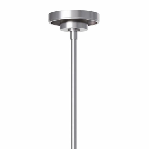 Cafe Pendant Polished Nickel - Three Sizes