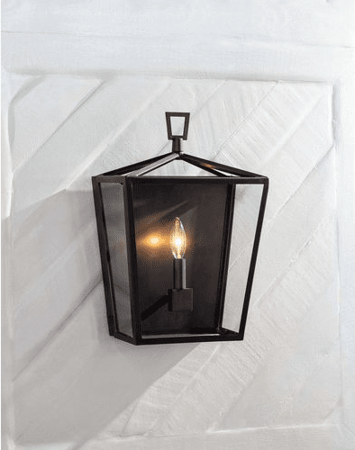 Camden Lantern Sconce in Three Colors