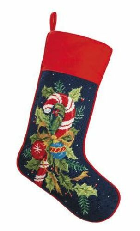 Candy Cane Chrismas Stocking<font color =a8bb35> Sold out</font>