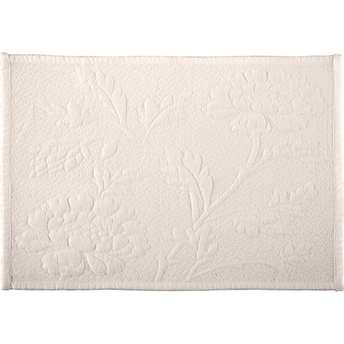 Carly Placemat Set of 6 - White or Red