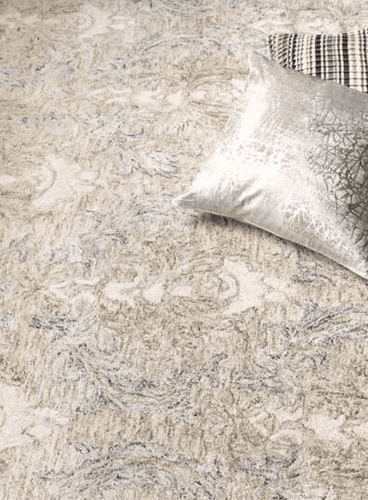 Carrera Damask Hand Tufted Rug