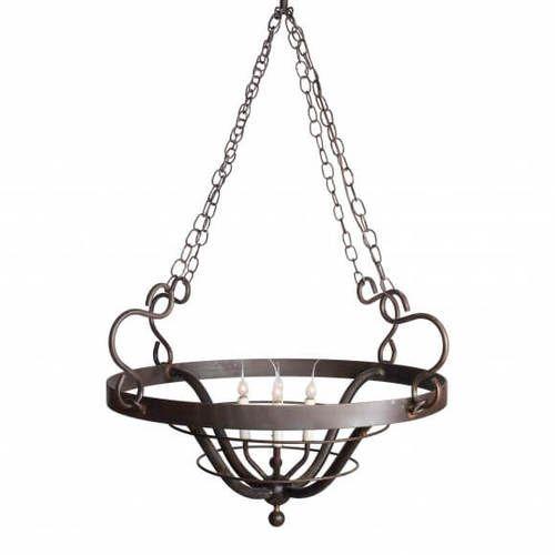 Cassina Point Round Basket Chandelier