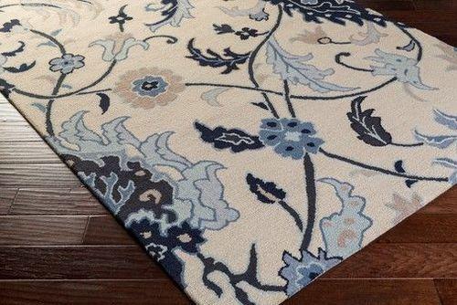 Centennial  Dark Blue Hand Tufted Rug