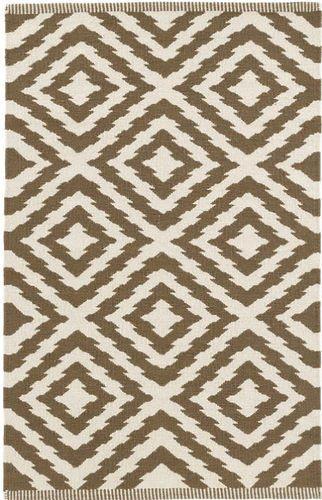 Clover Camel Cotton Woven Rug<font color=a8bb35> 20% off</font>