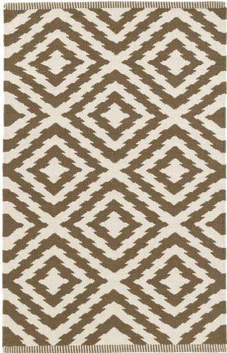 Clover Camel Cotton Woven Rug