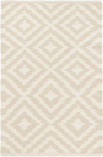 Clover Cement Cotton Woven Rug