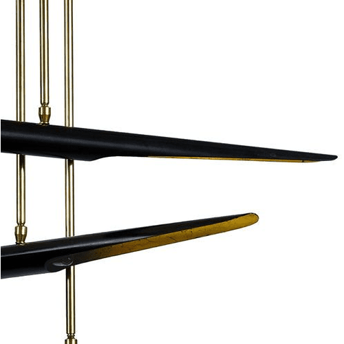 Concorde Chandelier in Two Colors