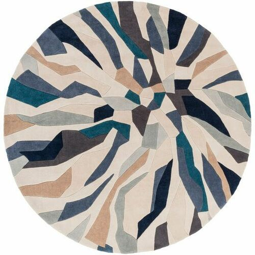 Cosmopolitan Bright Blue Hand Tufted Rug
