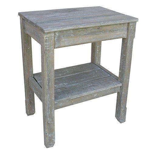 Cottage Plank Side Table
