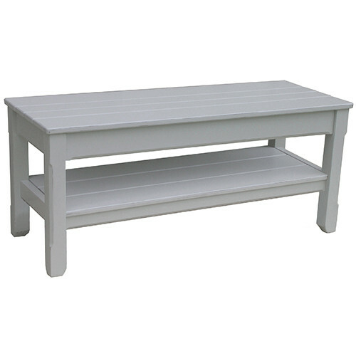 Cottage Planked Bench Small