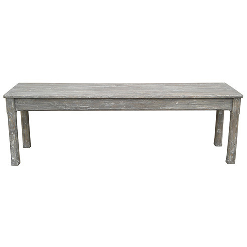Cottage Planked Queen Bench
