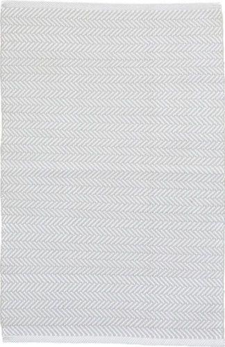 Herringbone Pearl Grey Indoor/Outdoor Rug