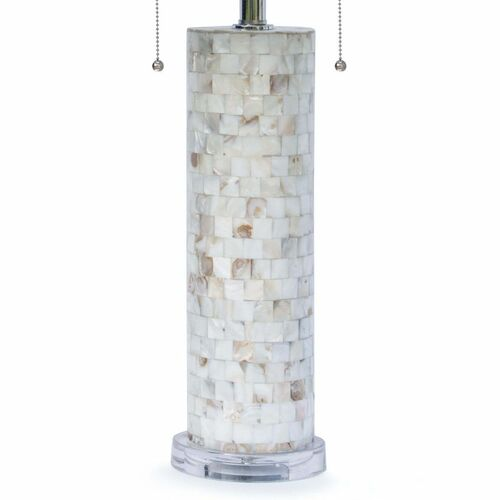 Deva Mother of Pearl Table Lamp<font color=a8bb35> NEW</font>