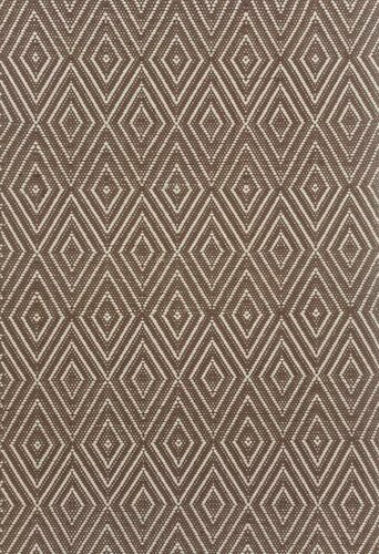 Diamond Charcoal and Taupe Indoor/Outdoor Rug