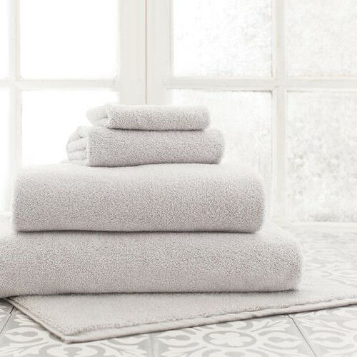 Signature Dove Grey Bath Towels